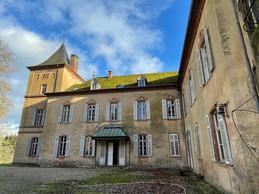 L'arrière du château de Birtrange prend un caractère plus intime. ((Photo: Croix-Rouge luxembourgeoise))