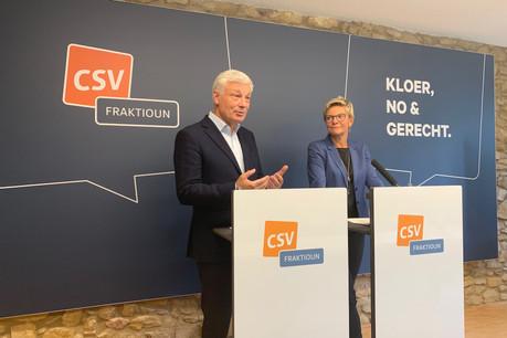 Claude Wiseler et Martine Hansen apportent les preuves que la décision de la ministre de l'Environnement était illégale, sans vouloir en tirer les conséquences pour le moment. (Photo: Paperjam)
