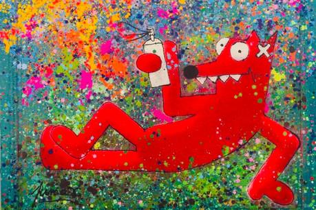 L'œuvre «Sunshine» de Pimax, à découvrir samedi à la galerie Pop My Duke, à Hollerich. (Photo: Pop My Duke)