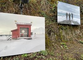 Vue de l'exposition en plein air à Clervaux. ((Photo: Clervaux-Cité de l'image))