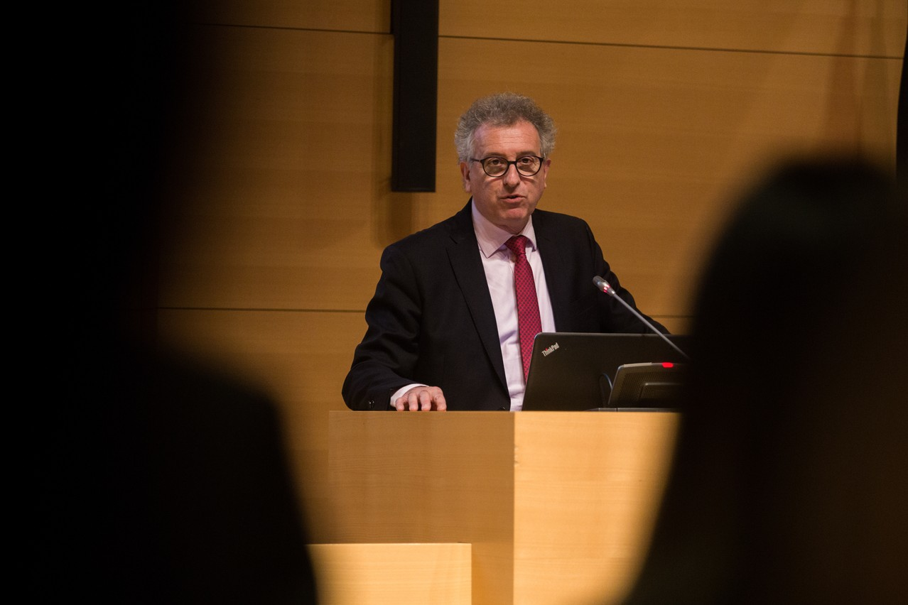 Le ministre des Finances craint un effet négatif de l'affaire CumEx pour l'image du pays. (Photo: Matic Zorman)