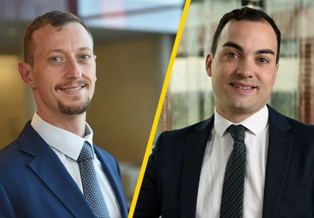 Alexandre Minarelli, Associate Partner, Cybersecurity & Data Privacy, EY Luxembourg &Alejandro Del Rio, Manager, Cybersecurity & Data Privacy, EY Luxembourg. Crédit : EY Luxembourg