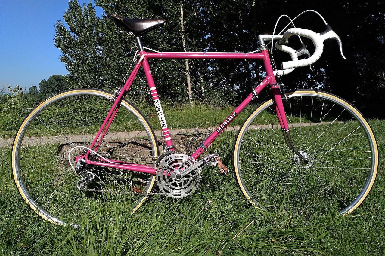 Un vélo des Cycles Mercier des années 1970. La société avait été mise en faillite au milieu des années 1980. (Photo: Wikimédia Commons)