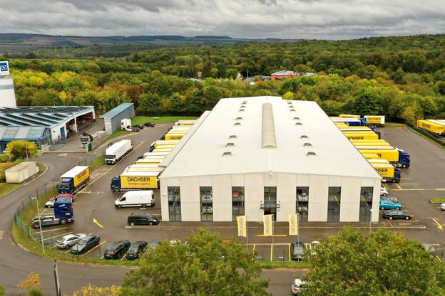Dachser au Luxembourg, c'est4.600m 2 , 51 employés et un chiffre d'affaires de 14 millions. (Photo: Dachser.lu)