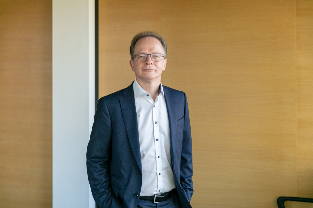 Digitalisation is one of the priorities of Daniel Croisé's new mandate as managing partner, which started on 1 October. Photo: Romain Gamba/Maison Moderne
