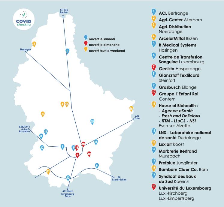 18 entreprises un peu partout dans le pays participent aux Portes ouvertes. (Crédit: brain&more)