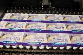 Luxlait a continué de fournir ses clients en crème fraîche pendant la crise du coronavirus. ((Photo: Matic Zorman / Maison Moderne))
