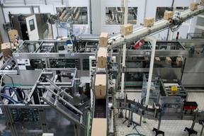 D'énormes machines pour fabriquer les produit laitiers que nous trouvons dans les magasins. ((Photo: Matic Zorman / Maison Moderne))