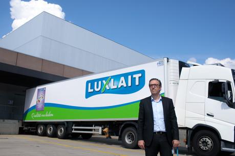 Gilles Gérard, CEO de Luxlait, nous propose une visite de son usine. Elle tourne à plein temps malgré le Covid-19. (Photo: Matic Zorman / Maison Moderne)