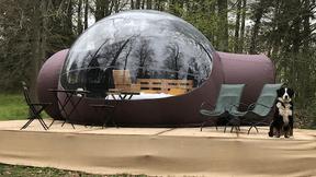 Les bulles de Bubbleplace. ((Photo: Bubbleplace))