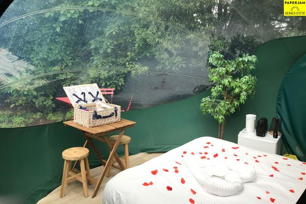 La version«romantique» des bulles de Bubbleplace. (Photo: Bubbleplace)