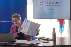 Le Covid et les situations particulières qui ont en découlé ont permis à Sasha Baillie et Luxinnovation d'assoir encore un peu leur rôle dans la transformation digitale des entreprises du Luxembourg. (Photo: MECO)
