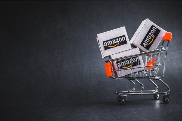 Dans la continuité d'Amazon Go, le géant américain prévoit de lancer un chariot intelligent d'ici la fin de l'année. (Photo: Shutterstock)