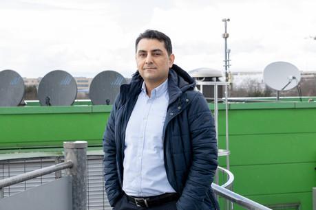 Ahmad Gharanjik, CEO et fondateur de Databourg Systems, a mis en œuvre un système d'alerte rapide aux inondations et phénomènes extrêmes au bénéfice des autorités et des entreprises. (Photo: Université du Luxembourg)