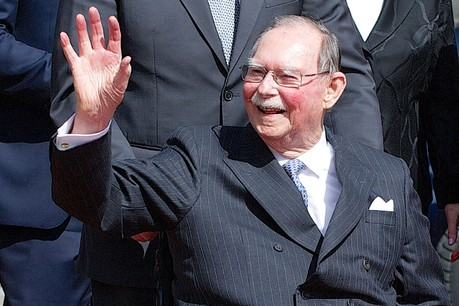 Le Grand-Duc Jean est décédé le mardi 23 avril à l'âge de 98 ans. (Photo: Collection de la Cour grand-ducale)