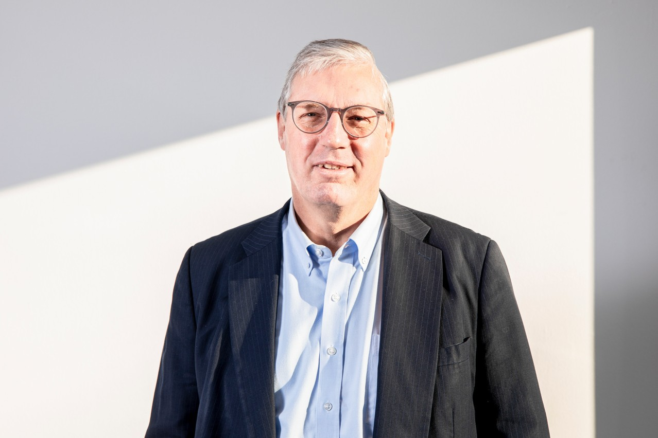 DavidHagen est un spécialiste reconnu des systèmes d'information financiers. (Photo: MarcBlasius/Maison Moderne/Archives)