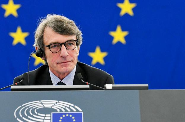 Le socialiste David Sassoli a été élu à la présidence du Parlement européen après deux tours de scrutin. (Photo: Parlement européen)