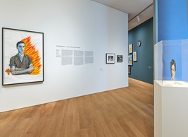Vue de l'exposition  David Wojnarowicz. History Keeps Me Awake at Night , 26.10.2019 — 09.02.2020, Mudam Luxembourg.  (© Rémi Villaggi | Mudam Luxembourg)