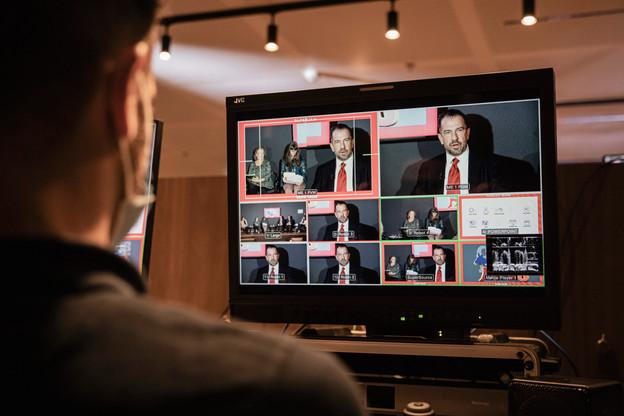 21.10.20 - US Elections Debate (Photo: Jan Hanrion / Maison Moderne)