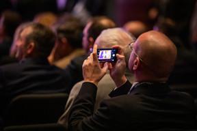Plus de 400personnes ont assisté au CEO & Entrepreneurs Cocktail Winter Edition. ((Photo: Patricia Pitsch/Maison Moderne))