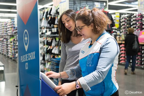 Le magasin de Luxembourg-ville fera la part belle au «click & collect» et à la vente de petits articles couplée à des animations sportives. (Photo: Decathlon)