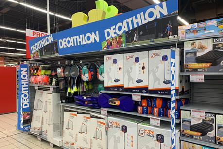 L'offre en jouets d'extérieur pour enfants distribués via les deux hypermarchés Cora complète ainsi la gamme de produits disponible dans le Decathlon City du complexe Royal-Hamilius. (Photo: Cora Concorde)
