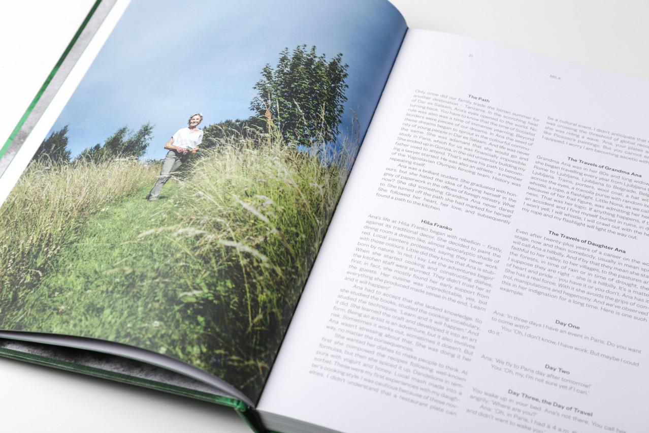 Ana Roš dévoile autant de sa personnalité que de son environnement naturel dans son premier ouvrage, édité chez Phaidon. (Photo: Romain Gamba/Maison Moderne)