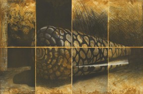 «Hommage to Rembrandt», 2002, de Marc Frising, collection de la Bibliothèque nationale du Luxembourg ((Photo: Marcel Strainchamps))
