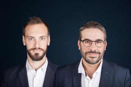 Julien Schleich, CTO, et Steve Verlinden, COO de Nadi Solutions. (Photo: Nadi Solutions)