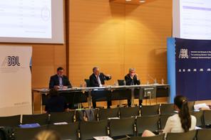 YvesMaas (directeur général), GuyHoffmann (président) et PierreEtienne (vice-président) ont dressé le bilan de l'année écoulée et de la crise du Covid-19. (Photo: Romain Gamba / Maison Moderne)