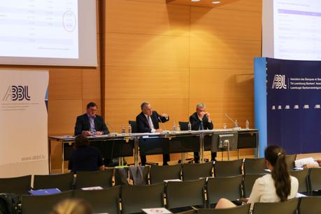 YvesMaas (directeur général), GuyHoffmann (président) et Pierre Etienne (vice-président) ont dressé le bilan de l'année écoulée et de la crise du Covid-19. (Photo: Romain Gamba/Maison Moderne)