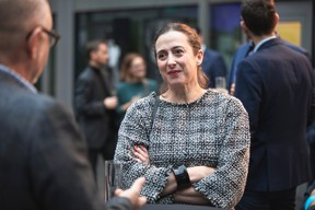 Claire Leblanc (Directrice-Conservatrice du Musée d'Ixelles) ((Photo: Simon Verjus/Maison Moderne))
