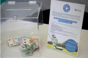 Récolte de dons, sous la forme d'un Mulligan, au profit de Médecin du Monde Luxembourg. ((Photo: Blitz Agency))