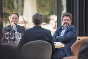 Stanislas Dutreil (Badenoch + Clark) et Nicolas Henckes (CLC) ((Photo: Jan Hanrion/Maison Moderne))