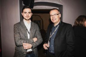 Alexandre Sardo (LuxNetwork) et Stéphane Ambrosini (Marks & Clerk LLP) ((Photo: Jan Hanrion/ Maison Moderne))