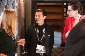 Charles Pozzo Di Borgo (Celis Real Estate) et Nathalie Cravatte (NC Coaching - Coach de vie et consulting) ((Photo: Jan Hanrion/ Maison Moderne))