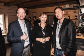 Joachim Colles (Ista Luxembourg), Sylvie Fasbinder (Confédération Luxembourgeoise du Commerce) et Hakim Hammou (Berlitz) ((Photo: Jan Hanrion/ Maison Moderne))