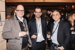 Ludovic Roehm (Publi.lux), Gilles Morgado (Renault Luxembourg) et Elias Chbeir (ELIAS Luxembourg) ((Photo: Jan Hanrion/ Maison Moderne))