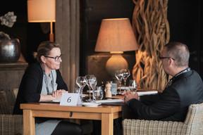 Sandrine Mettavant (Compagnie du Luxembourg) et Stéphane Ambrosini (Marks & Clerk LLC) ((Photo: Jan Hanrion/ Maison Moderne))