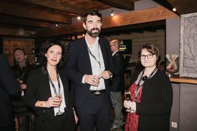 Sophie Pierini (RJ Gaito Law Firm), Frédéric Gattaux (SERIS Security) et Danièle Picard (PYXIS Management) ((Photo: Jan Hanrion/ Maison Moderne))