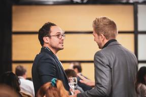 Valérian Branco (Goldbaum) et Matthias Grenier (Wemanity) ((Photo: Patricia Pitsch/Maison Moderne))