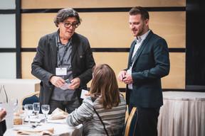 Alain Gadreau (Triode Médiation & Coaching) et Yvan Barnabaux (Innov'ICTION) ((Photo: Patricia Pitsch/Maison Moderne))