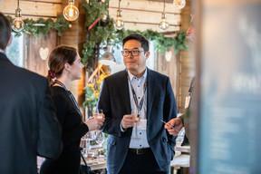 Cypris Brach (RH Expert) et Buu Huynh (ING Luxembourg) ((Photo: Jan Hanrion/Maison Moderne))