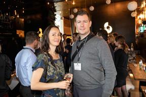Kate Bereziy (Exoatlet) et  David Laloux (Groupe L Architectes) ((Photo: Jan Hanrion/Maison Moderne))