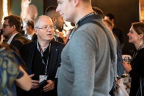 Olivier Rousseau (Oburo), David Laloux (Groupe L Architects) et Cypris Brach (RH Expert) ((Photo: Jan Hanrion/Maison Moderne))
