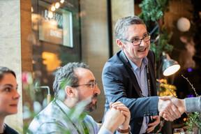 Frédéric Lens (F3C Systems) et Emmanuel Ballouhey-Dauphin (Reka) ((Photo: Jan Hanrion/Maison Moderne))