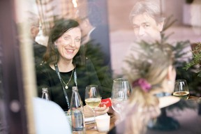 Sophie Pierini ( RJ Gaito Law Film) et Fred Pilet (EGB Interior Design) ((Photo: Jan Hanrion/Maison Moderne))