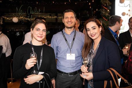 Cypris Brach (RH Expert), Dave Lajoie (Tertia Office Solutions) et Fernanda Melo (Paladium) (Photo: Jan Hanrion/Maison Moderne)