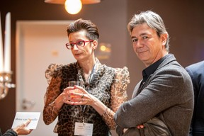 Nathalie Cravatte (Nc coaching consulting) et Fred Pilet (EGB Interior Design) ((Photo: Jan Hanrion / Maison Moderne))