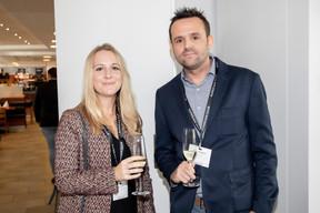 Eugénie Desmet (Pronovem Luxembourg) et Michel Paradeis (Interactiv) ((Photo: Jan Hanrion/Maison Moderne))